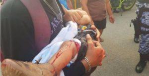 Ataca grupo armado a una familia en Veracruz; hay cuatro heridos, entre ellos un bebé