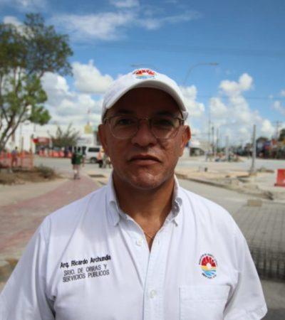 Asegura Ricardo Archundia que demolición del kiosco no es responsabilidad del ayuntamiento porque es una obra del Gobierno del Estado