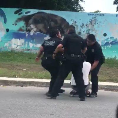 Asegura Jorge Robles que presunto abuso policíaco contra estudiante en Playa del Carmen será investigado