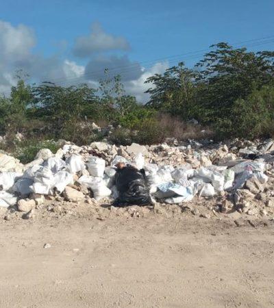 HALLAN EMBOLSADO EN LA RUTA DE LOS CENOTES: Dejan cuerpo de ejecutado en Puerto Morelos junto a mensaje que advierte presunta guerra de cárteles