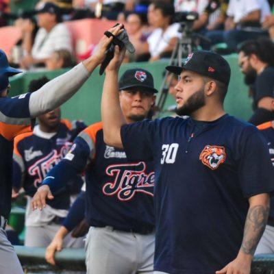 TIGRES MOSTRÓ MÁS GARRA: Wilfredo Boscán se sublimó en la loma, mientras Manuel Orduño dio 'homerun' que abrió la brecha para llevar a Quintana Roo a vencer 6-1 a los Leones de Yucatán