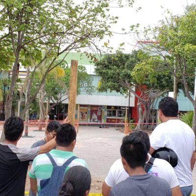 SEGUIMIENTO   EJECUCIÓN PARALIZA OBRAS EN EL CRUCERO: Aseguran que hombre abatido el lunes era un presunto vendedor de drogas en Cancún
