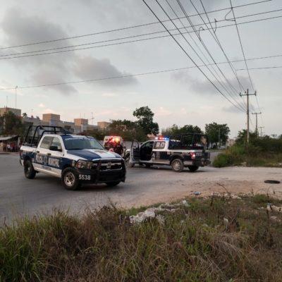 BALEAN A MOTOCICLISTA EN LA SM 255: Hombre queda herido en el tórax tras ataque en Cancún