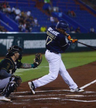 Tigres de Quintana Roo logra vencer 11-3 a los Leones de Yucatán