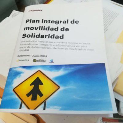 Concluye la primera fase del estudio de movilidad que permitirá construir el Centro Multimodal de Transporte en Solidaridad