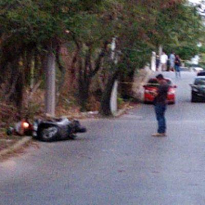 REPORTAN DOS ATAQUES A BALAZOS EN CANCÚN; SÓLO UNO SE CONFIRMÓ: Ejecutan a un mecánico sobre la avenida Miguel Hidalgo, a la altura de la Región 93