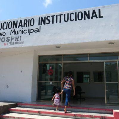 Baja afluencia de votantes en la elección del PRI en Quintana Roo