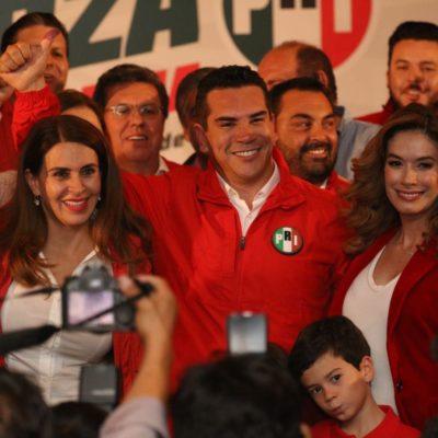 Se declara ganador 'Alito' Moreno en la elección para renovar dirigencia del PRI