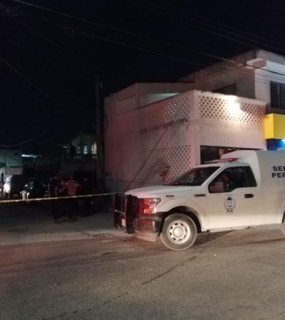 LOS PERSIGUIERON EN MOTO Y LOS BALEARON: Ejecutan a un hombre y dejan herida a una mujer en el fraccionamiento Lombardo Toledano de Cancún