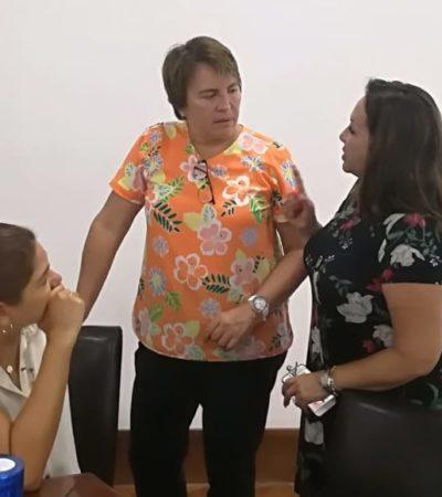 No confirma Laura Beristain si acudirá a la SCJN para impugnar la Ley de Emergencia Policial impulsada por el gobierno de QR para asumir el control de la seguridad pública en Solidaridad y otros municipios bajo el Mando Único