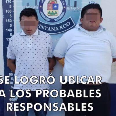 SEGUIMIENTO | PRESUNTOS SICARIOS EN UN TAXI: Bajo investigación, dos hombres detenidos por ejecución de lavador de vehículos en la SM 107 de Cancún
