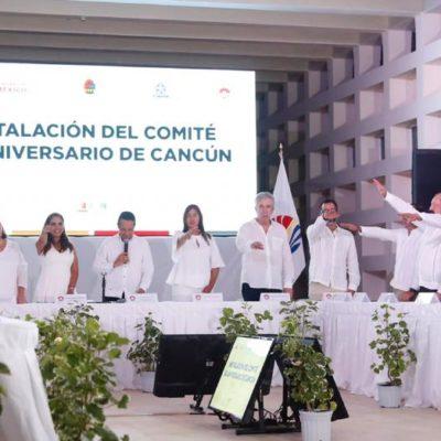 RUMBO AL MEDIO SIGLO DEL PARAÍSO: Inician los preparativos para el festejo del 50 aniversario de Cancún