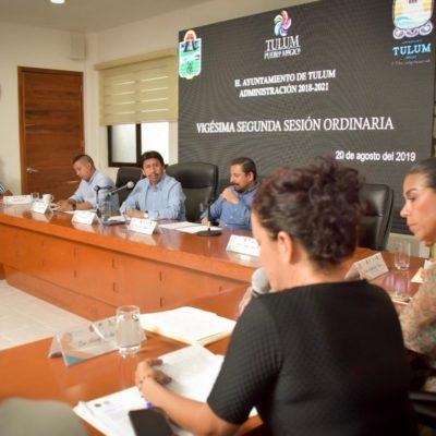 Aprueban recinto oficial para Primer Informe del presidente municipal, Víctor Mas Tah