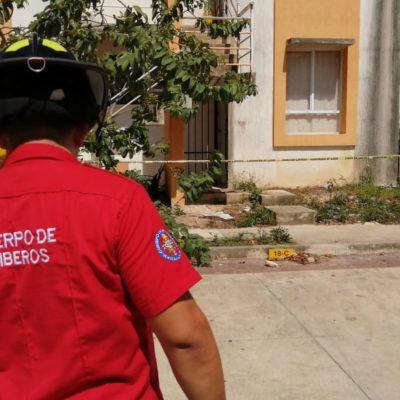 Hallan cadáver putrefacto en un domicilio del fraccionamiento Ciudad Natura de Cancún