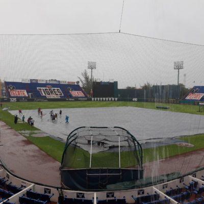 Lluvia no deja jugar a Tigres y Guerreros