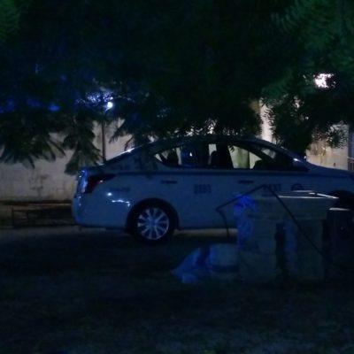 Intentan matar a taxista en Playa de tres balazos