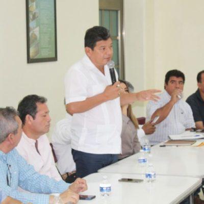 Se reúne Luis Torres con comisariados ejidales de Bacalar para hablar de programas agropecuarios estatales