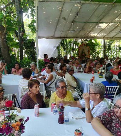 Celebran el Día del Adulto Mayor en Playa del Carmen