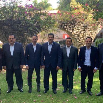 CREAN ASOCIACIÓN DE GOBERNADORES DEL PAN: Participa Carlos Joaquín en nueva agrupación que busca proyectar autonomía y respeto a la soberanía de los estados