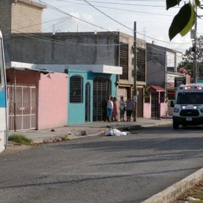 Ciclista muere atropellado por autobús de Autocar en la Región 102 de Cancún