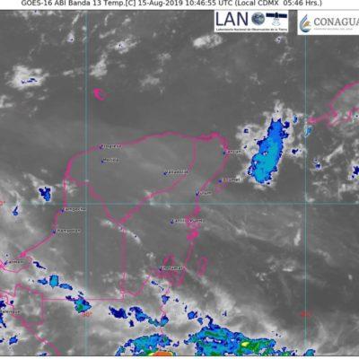 Persistirán temperaturas altas y lluvias aisladas en Quintana Roo