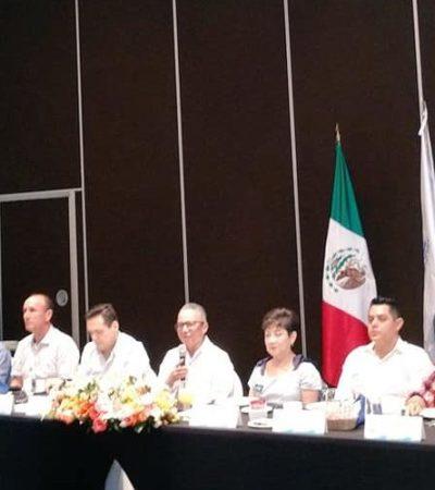 Empresarios de Cancún se reúnen con Oscar Montes de Oca para tratar temas de prevención del delito