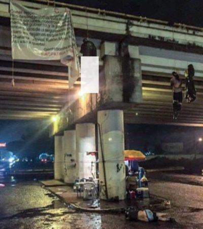 MASACRE EN MICHOACÁN: Dejan al menos 13 cuerpos colgados y desmembrados en Uruapan