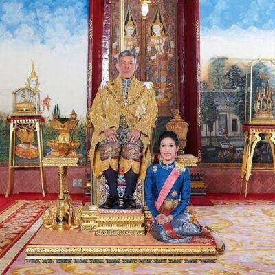 Colapsa web del palacio real de Tailandia por peculiares fotos de la concubina del rey