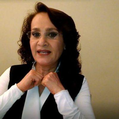 Reconoce Dolores Padierna que juez en el caso de Rosario Robles es su sobrino