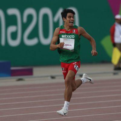 LA ESPECTACULAR CARRERA POR EL ORO 27 DE MÉXICO: Gana José Villarreal la medalla dorada en los 1,500 metros