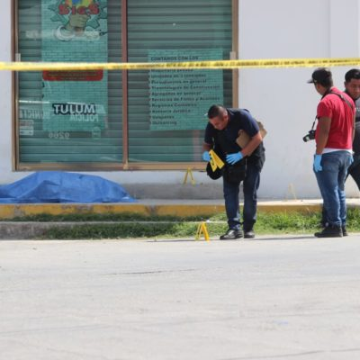 Disputa por predios irregulares, la principal línea de investigación en el asesinato de una mujer en Tulum