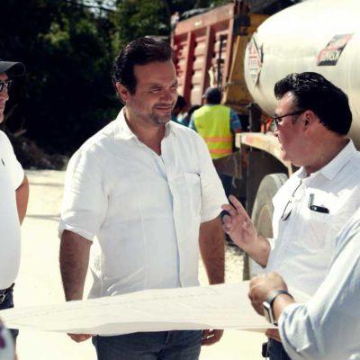 Brinda Pedro Joaquín servicios básicos a familias de la Zona de Atención Prioritaria de Cozumel