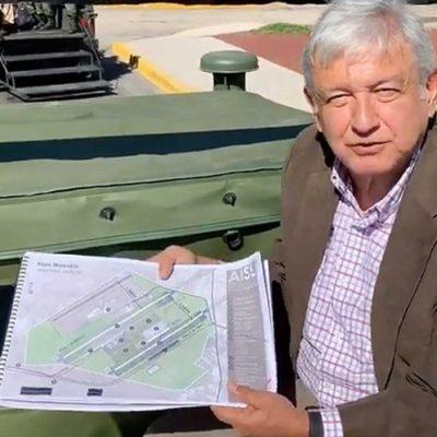 Reportará directo a AMLO promotor de Santa Lucía