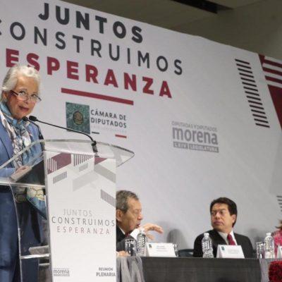 Exhorta Sánchez Cordero al Senado a regular consumo de la marihuana
