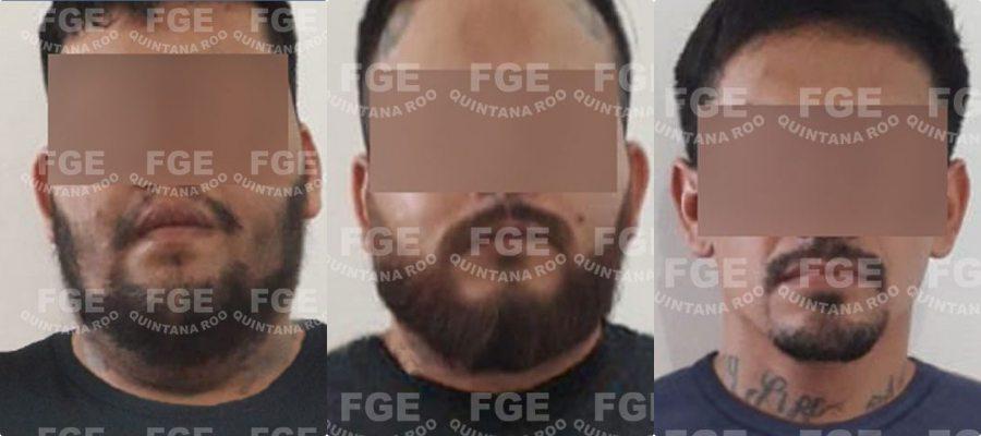 Logra FGE vinculación a proceso de tres hombres por secuestro agravado en Cuna Maya