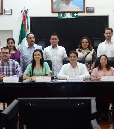 Participa el Municipio de Cozumel, por medio de la Dirección de Turismo y Desarrollo Económico, en la instalación de la Comisión de Turismo y Asuntos Internacionales del Congreso