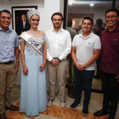 Se reúne Pedro Joaquín con jóvenes que representarán a Cozumel en sendos concursosestatales y nacionales