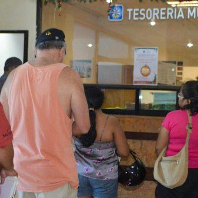 Inician programa de descuentos en Isla Mujeres en multas, recargos y servicios