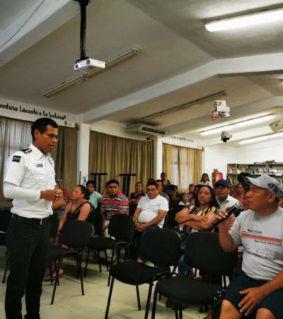 Imparten taller de prevención de conductas de riesgo para adolescentes en Isla Mujeres