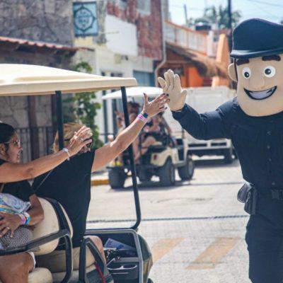 Realizan talleres de prevención del delito Isla Mujeres para continuar como el municipio más seguro de QR