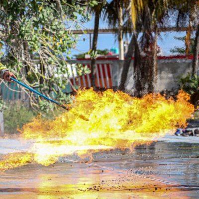 Preparan simulacro en Casa de la Cultura de Isla Mujeres por Semana Nacional de Protección Civil