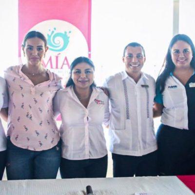 Trabajan para concientizar sobre la prevención del cáncer de mama en Isla Mujeres