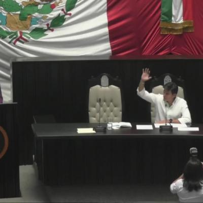 CAMBIOS EN LA BANCADA DEL PVEM EN EL CONGRESO: Asume José de la Peña el liderazgo de los diputados 'verdes' en Quintana Roo