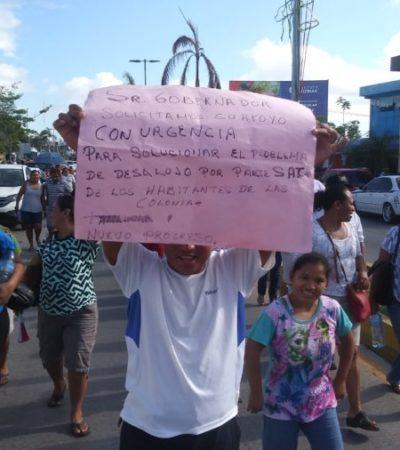 """Piden habitantes de la colonia """"Nuevo Progreso"""" que se agilice el apoyo jurídico por parte del Congreso para evitar subasta de predios"""