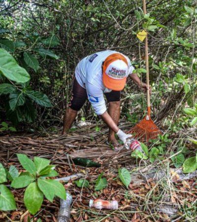 Durante la temporada de huracanes toman precauciones para garantizar la integridad de familias en Isla Mujeres