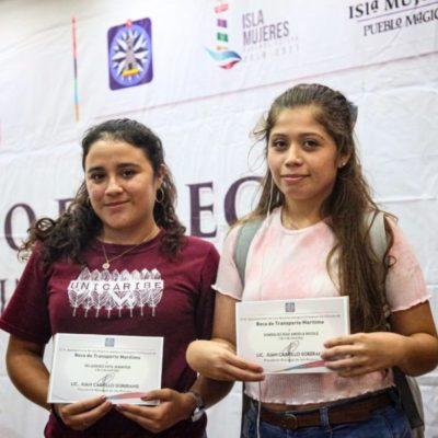 Convoca gobierno de Isla Mujeres a estudiantes de todos los niveles para obtener becas municipales