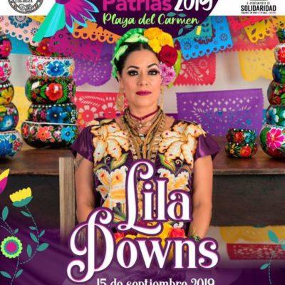 Confirman concierto al aire libre de Lila Downs en la noche del Grito en Playa del Carmen