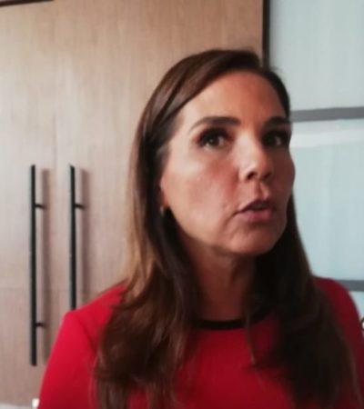 Afirma Mara Lezama que Policía Auxiliar e instalación de más cámaras servirán para disminuir cifras de robo a comercios