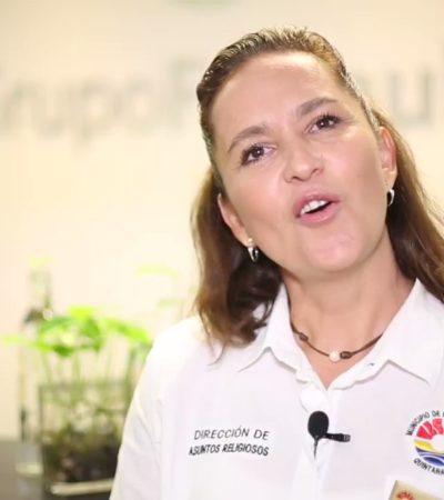 Rompeolas: Comuna de Cancún hace como que no ve las nuevas 'invasiones' de los Legionarios de Cristo a espacios públicos