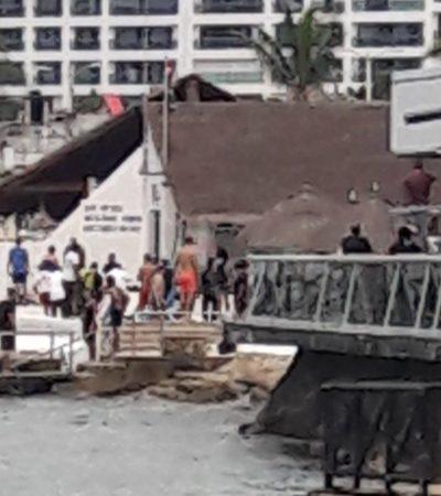 Rescatan en Cozumel a turista de crucero cuando se ahogaba